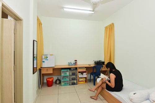 Welcome to ixora apartment rooms for Room with attached bathroom designs